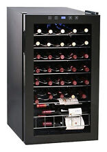 Vinotemp   34 Bottle Wine Cellar   Black