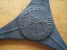 VINTAGE THERMADOR tripod with thermador logo 8 inch