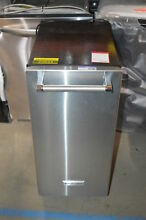 KitchenAid KUIX305ESS 15  Stainless Freestanding Ice Maker NOB  23634