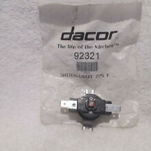 Dacor Oven Hi Limit Thermal Switch Part  92321