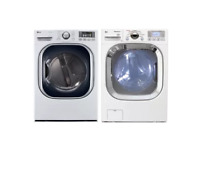 LG DLEX4070W WM3001HWA 27  White Front Load Dryer Steam Washer PCLW2  23770