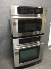 Jenn Air 30  Oven And Microwave Combo JMW9530DAS