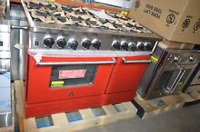 BlueStar RNB488BV1LP 48  Red Freestanding Liquid Propane Range NOB  24142