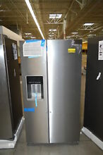 Whirlpool WRS588FIHZ 36  Stainless Side by Side Refrigerator NOB  24512 HL
