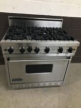 VIKING VGIC365 6BSS 36  Professional Gas Range Oven 6 Burner Stainless Steel