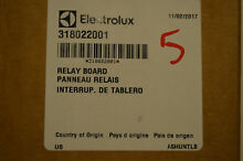 New Electrolux Frigidaire Lower Oven Relay Board 318022001
