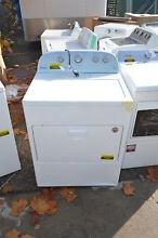 Whirlpool WGD49STBW 30  White Front Load Gas Dryer NOB  19441 T2 WLK