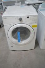 Whirlpool WED75HEFW 27  White Front Load Stack Electric Dryer NOB  24460 HL