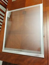 Kitchenaid Whirlpool Glass Refrigerator Shelf WPW10756310 replaces  W10756310