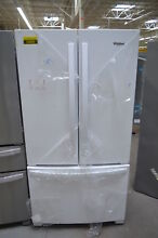 Whirlpool WRF535SWHW 36  White French Door Refrigerator NOB  24805 HL