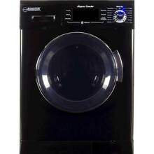 Equator   1 6 Cu  Ft  7 Cycle Washer and Dryer Combo   Black
