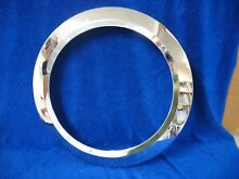 Whirlpool Front Load Washing Machine Trim Ring Chrome PN W10248123  30292