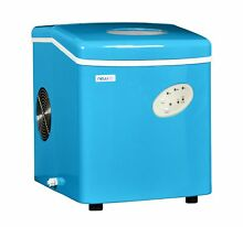 NewAir Ice Maker Portable Small Appliance Compact Blue Electric Machine