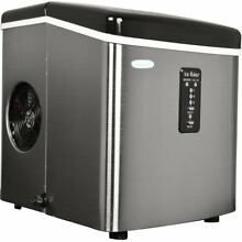 NewAir Ice Maker Portable Small Appliance Compact White Electric Machine