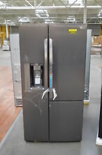 LG LSXS26366D 36  Black Stainless Side by Side Refrigerator NOB  25235 HL