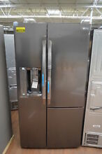 LG LSXS26366D 36  Black Stainless Side by Side Refrigerator NOB  25236 HL