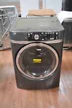 GE GFD48ESPKDG 28  Diamond Gray Front Load Electric Dryer NOB  25306 CLW