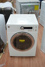 GE DCVH480EKWW 24  White Front Load Electric Dryer NOB  25305 CLW