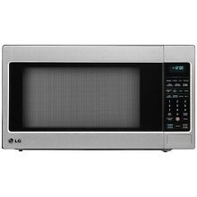 LG 2 0 Cu Ft Counter Top Microwave Oven with Easy Clean Stainless Steel NEW