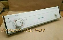 3392250d Whirlpool Dryer console with Timer and knobs