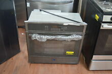 GE JT5000BLTS 30  Black Stainless Single Electric Wall Oven NOB  25360 HL