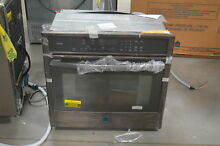 GE PT7050BLTS 30  Black Stainless Single Electric Wall Oven NOB  25439 HL