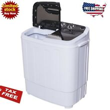 Washer Dryer Combo Portable Washing Machine 13lbs Stackable Cheap Black White