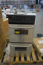 GE JRP28SKSS 24  Stainless Double Electric Wall Oven NOB  25668 HL
