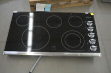 Frigidaire FGEC3645PS 36  Stainless Smoothtop Electric Cooktop NOB  25674 HL