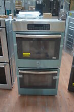 GE JK3500SFSS 27  Stainless Double Electric Wall Oven NOB  25769 HL