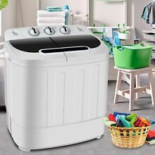Washing Machine Cleaner Combo Spin Dryer Portable Laundry Compact Mini RV Washer