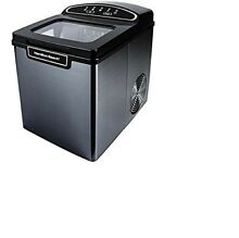 Hamilton Ice Maker Portable Small Appliance Stainless Steel Electric Machine