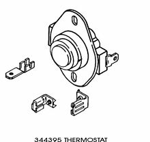 Kenmore WP344395 Dryer Operating Thermostat