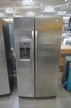 GE GSS25GSHSS 36  Stainless Side by Side Refrigerator NOB  25465 HL