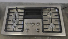 Frigidaire RC36DG60PS 36  Built In Downdraft Gas Cooktop