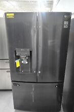 LG LFXS28566M 36  Matte Black Stainless French Door Refrigerator NOB  26046 HL