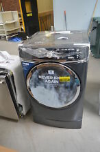 GE GFD49ERPKDG 28  Gray Front Load Electric Dryer NOB  26103 HL