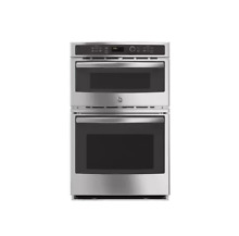 GE JK3800SHSS 27  Stainless Combination Wall Oven NOB  26091 HL