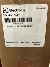 Frigidaire 5304507341 Dishwasher Control Panel Assembly FACTORY SEALED