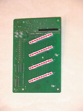 DACOR ELECTRIC COOKTOP TOUCH CONTROL BOARD PART NUMBER 72516 FROM MODEL ETT304B