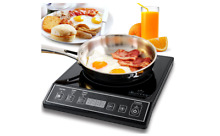 Portable Induction Cooktop Countertop Stove New Wave Top Electric RV Cookware