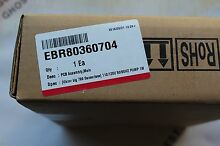 OEM EBR80360704 LG Front Load Washer Electronic Control Board NEW