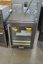KitchenAid KUBR304EBS 24  Black Stainless Dual Zone Wine Cooler NOB  26244 HL