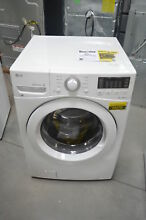 LG WM3080CW 27  White Front Load Washer 4 3 Cu Ft NOB  26270 HL