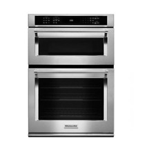 KitchenAid KOCE500ESS 30  Stainless Combination Double Wall Oven NOB  26316 HL