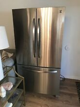 Kenmore  27 6 Cu  Ft  French Door Refrigerator   Stainless Steel