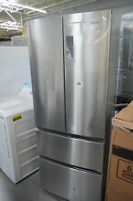 Haier HRF15N3AGS 28  Stainless French 4 Door Refrigerator NOB CD  26364 HL