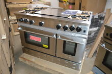 BlueStar RNB484GV2 48  Stainless Freestanding Natural Gas Range NOB  24141