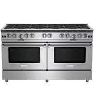 BlueStar BSP6010B 60  Stainless Freestanding Natural Gas Range NOB  24129