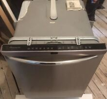 Used 24  Inch Dishwasher Frigidaire Gallery Stainless Steel  Pickup in Queens NY